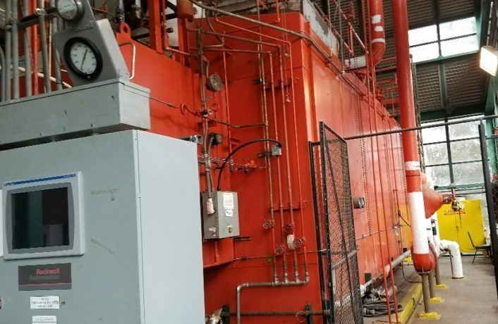 """Zurn/Indeck """"O"""" Style Water Tube Boiler Re-tube"""